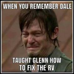 The Walking Dead funny meme - season 5 humor #TheWalkingDead