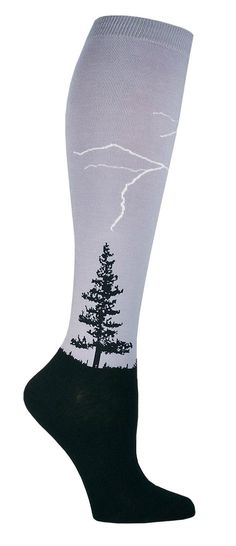 We hear the odds of lightning striking twice are about one in a million… but with these cool knee high socks, we can guarantee you will get struck at least once in each leg- but hopefully no more than