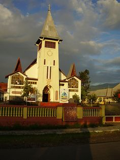 Sacred Heart Catholic Church in Malang - East Java