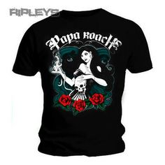 1413ee2384 Official T Shirt PAPA ROACH The Connection BRUJA Logo All Sizes Papa Roach,  Band Tees