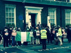 It's Busayolayemi's Blog.. : Photos: Protest Against Buhari At Chatham House In...