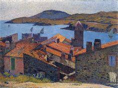 Henri Martin Collioure-et-Toits-Rouges