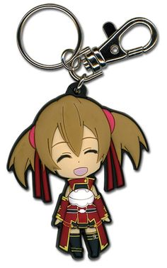Sword Art Online Key Chain - Chibi Silica Open Mouth Smile @Archonia_US