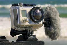 GoPro – Polar Pro Filters External Microphone-Professional Edition GoPro® Hero2 & Hero3