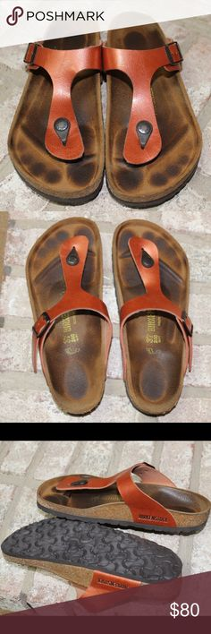 Birkenstock sandals ***FINAL PRICE*** Pre-loved. Please leave me a message if you have any questions. Birkenstock Shoes Sandals