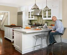 Photo: Ken Gutmaker | thisoldhouse.com | from Small Changes Equal Big Improvements in a Kitchen Space