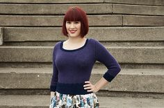 Ravelry: A Cropped Sweater for Winter by Andi Satterlund