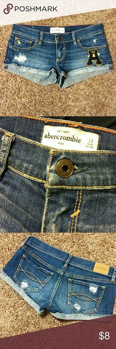 Abercrombie shorts Girls sz 14  Look great!! abercrombie kids Bottoms Shorts