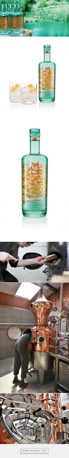 Silent Pool Distillers - Packaging of the World - Creative Package Design Gallery - http://www.packagingoftheworld.com/2016/04/seymourpowell-silent-pool-distillers.html