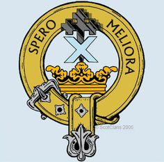 Moffat Clan Crest: As far back as the time of Sir William Wallace, the Moffats were a powerful and influential borders family, who most likely gave their name to the town of Moffat in Dumfriesshire.