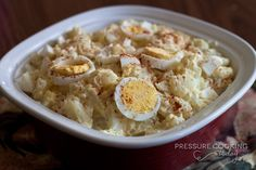 Quick Pressure Cooker Potato Salad