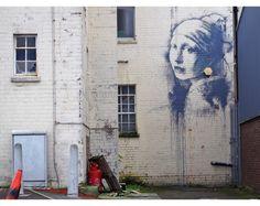 """Seinapilt maalilt  """"Tüdruk pärlkõrvarõngaga"""""""