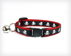 Halloween Sale 15 OFF Cat Collar Lil' Danzig by MadeByCleo