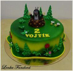 Krteček Fondant, Birthday Cake, Tv, Desserts, Food, Kuchen, Tailgate Desserts, Deserts, Birthday Cakes