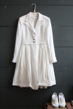 Linen Marjorie Coat