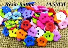 200pcs 10.5MM mixed color Resin shirt buttons sweater for sewing button dress craft wholesale R-173 $2,98
