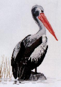 Pelican, a Ross Originals Cross Stitch Chart