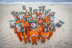 '30 Days of Injustice' Global Day of Solidarity in Brazil ► www.greenpeace.org/freethearctic30 ◄