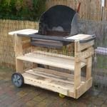 My new Pallet BBQ / Mon nouveau barbecue