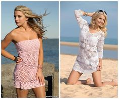 Little Treasures: 10 Free Crochet Beach Cover Ups