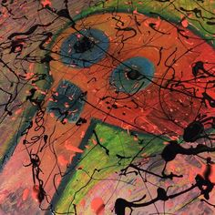 Anxious Robot: Planet Giggles' arch enemy  #artwork #painting