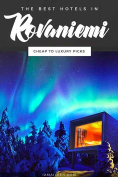 On a mission to see Lapland's Santa Claus Village and Northern Lights? Stay in any of these best hotels in Rovaniemi! // #Hostel #BudgetTravel #LuxuryTravel Magical Vacations Travel, Vacation Trips, Beautiful Hotels, Beautiful Places To Visit, Santa Claus Village, Treehouse Hotel, See The Northern Lights, Tourist Information, Bon Voyage