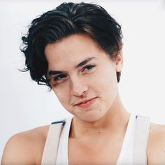cole sprouse - dark hair