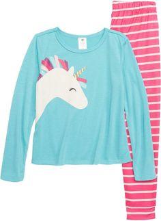743b98c684 Tucker + Tate Unicorn Fitted Two-Piece Pajamas (Toddler Girls