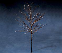 Outdoor Illuminated Brown Christmas Tree