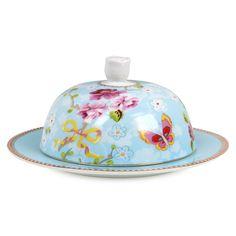 PIP Studio Blue Large Butter Dish from Elizabeth's Embellishments