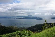 Taal Lake and Volcano,Tagaytay City , Philippines