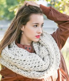 Oversized Infinity Scarf  THE COCO  Extra Large by MercierMarche