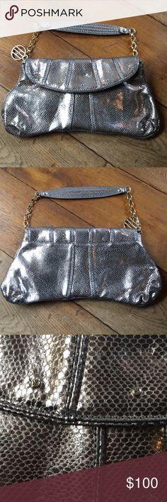Hayden Harnett faux snakeskin purse NWOT never been used hayden harnett Bags Mini Bags