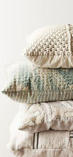Vintage Grainsack Pillows | Home Decor