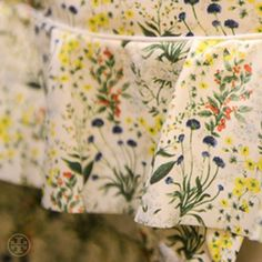 Ruffled bikini in a botanical print #toryspring14 #nyfw