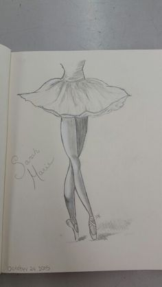 Ballerina Sketch Easy by May Young                                                                                                                                                     More