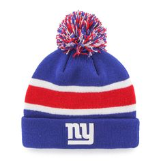 This 47 Brand New York Giants Breakaway Beanie Hat will keep you warm while  supporting your 5c76fa851da9