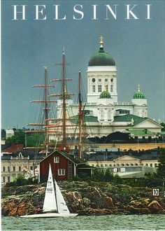 Helsinki, Finland, amazing place to see! Helsinki, The Places Youll Go, Places To See, Wonderful Places, Beautiful Places, Posters Vintage, Scandinavian Countries, Pub, Beautiful World