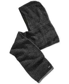 Calvin Klein Twisted Thermal Hooded Scarf Hooded Scarf, Hoods, Calvin Klein, Gloves, Winter, Fashion, Winter Time, Moda, Cowl Scarf