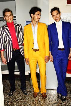 Roberto Cavalli Mens SS 12 Fashion Show Backstage