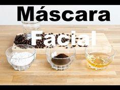 Máscara facial de Argila e Pó de café / Pele oleosa à mista - YouTube