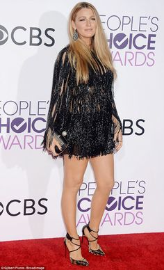 Blake Lively says Ryan Reynolds 'is all mine' at Peoples Choice Awards #dailymail