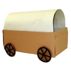 Grab an empty shoe box and Elmer's Glue-All for this fun project for kids. Our covered wagon project is a great way to talk about the pioneer days. Fun Projects For Kids, Lessons For Kids, School Projects, Crafts For Kids, Pioneer Crafts, Wild West Theme, Barn Wood Crafts, Western Theme, Cowboy Theme