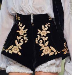 Ulyana Sergeenko S/S 2013 Couture Runway Details