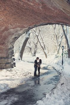 Central Park Engagement Session from Anne-Claire Brun Photography | Style Me Pretty