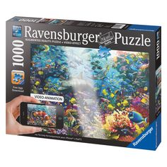 RAVENSBURGER Augmented Reality Colorful Underwater Kingdom 1000-piece Jigsaw Puzzle