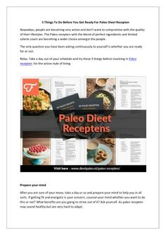 Try the paleo dieet recepten that eliminates the use of dairy and processed products, food will become easy to digest and thus leading to healthy weight loss. Try this diet for straight 30 days and see the instant result.