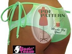 Loop Tie Short Sewing Pattern for Exotic Dancers and Strippers | Custom Made Stripper Clothes, Stripper Shoes, Pole Fitness Shoes