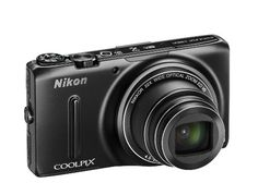 Nikon COOLPIX S9500 Wi-Fi Digital Camera with 22x Zoom and GPS (Black)(Certified Refurbished)