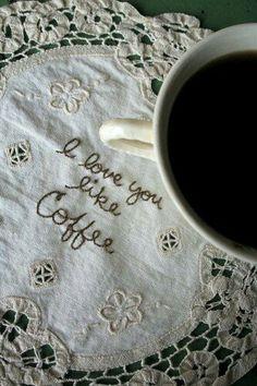 ♪♪ I ❤ Coffee! ✯ ♥ ✯ ♥ I need a C(_) of coffee!! •♥•✿ڿ(̆̃̃• ✯ I ♥ Coffee! ✯ ♥ ♪♪ ❤
